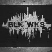 Black Works Studio Wall Sign