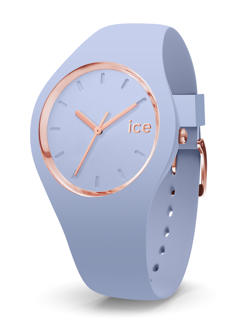 ICE WATCH Glam Colour Collection Rose Gold Case 40mm (M) Sky Blue Dial Sky Blue Strap