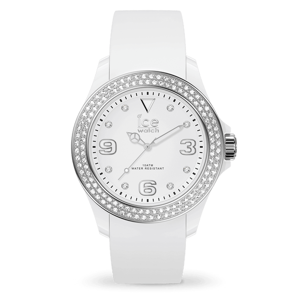 ICE WATCH Star White Silver Smooth Small 3H