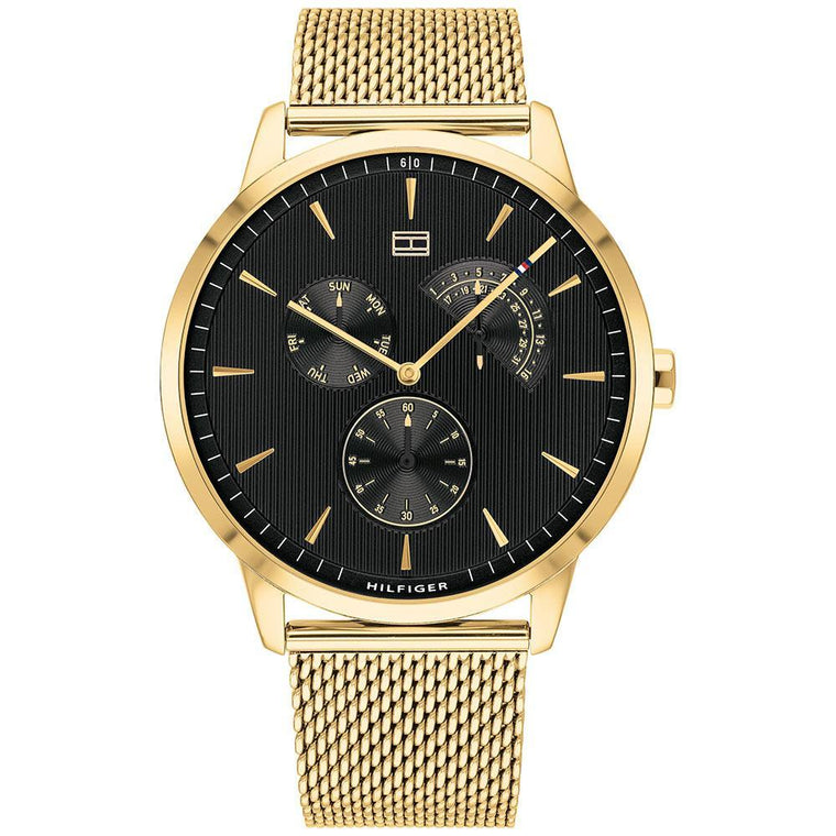 Gents Gold Mesh Watch