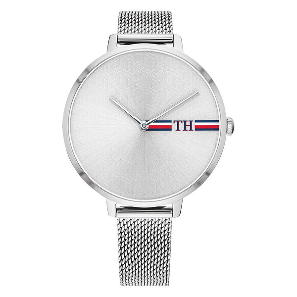 Tommy Hilfiger - Ladies Silver Mesh Watch