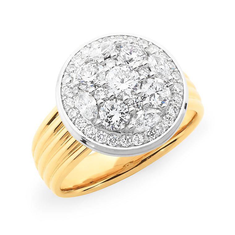 18ct Gold Dress Ring