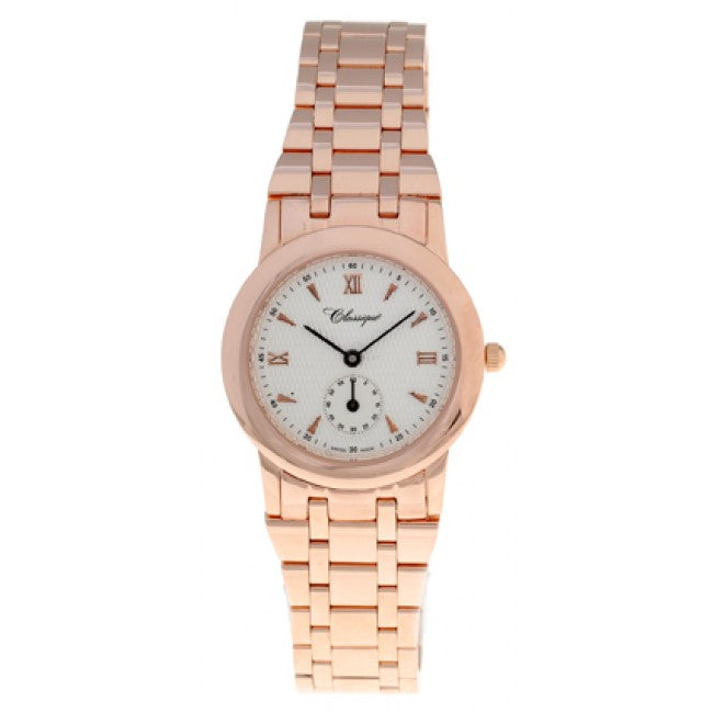 Classique - Rose Gold Plated Watch