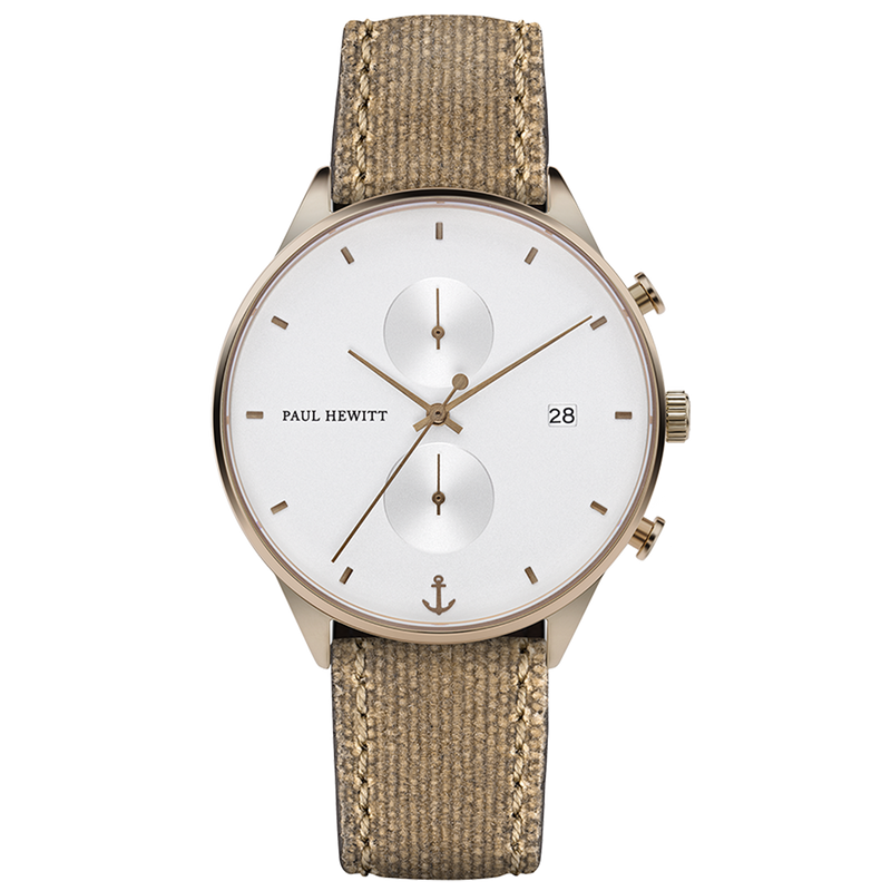 Paul Hewitt Chrono White Sand Bronze Desert Watch