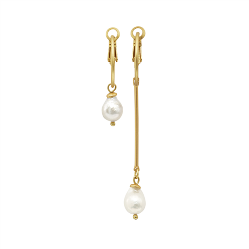 Dansk - Audrey Asymmetric Earrings