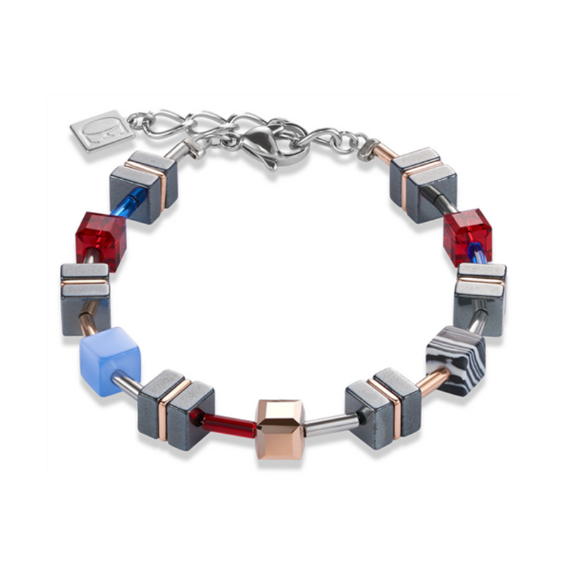 Coeur De Lion - Red/Blue Bracelet