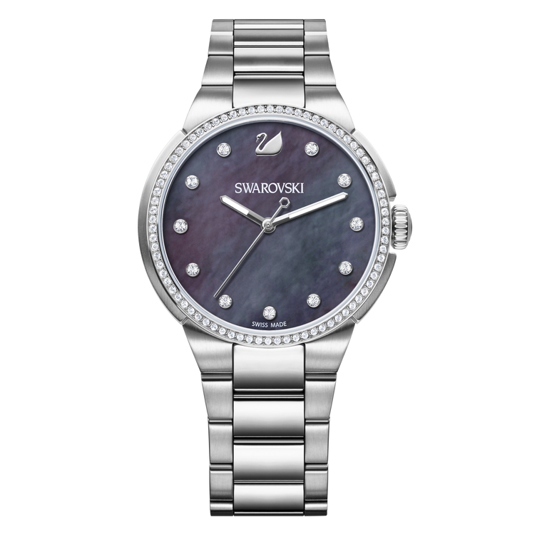 SWAROVSKI - City Mother of Pearl Ladies Watch