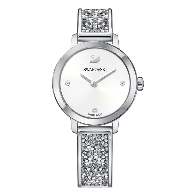 SWAROVSKI - Cosmic Rock Watch Silver Tone