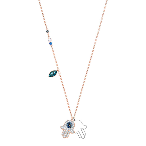 SWAROVSKI - Duo Hamsa Hand Necklace
