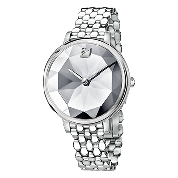 SWAROVSKI - Crystal Lake Watch Silver Tone