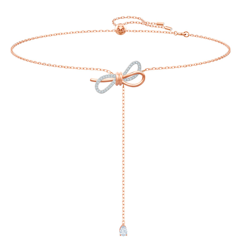 SWAROVSKI - Lifelong Bow Y Necklace