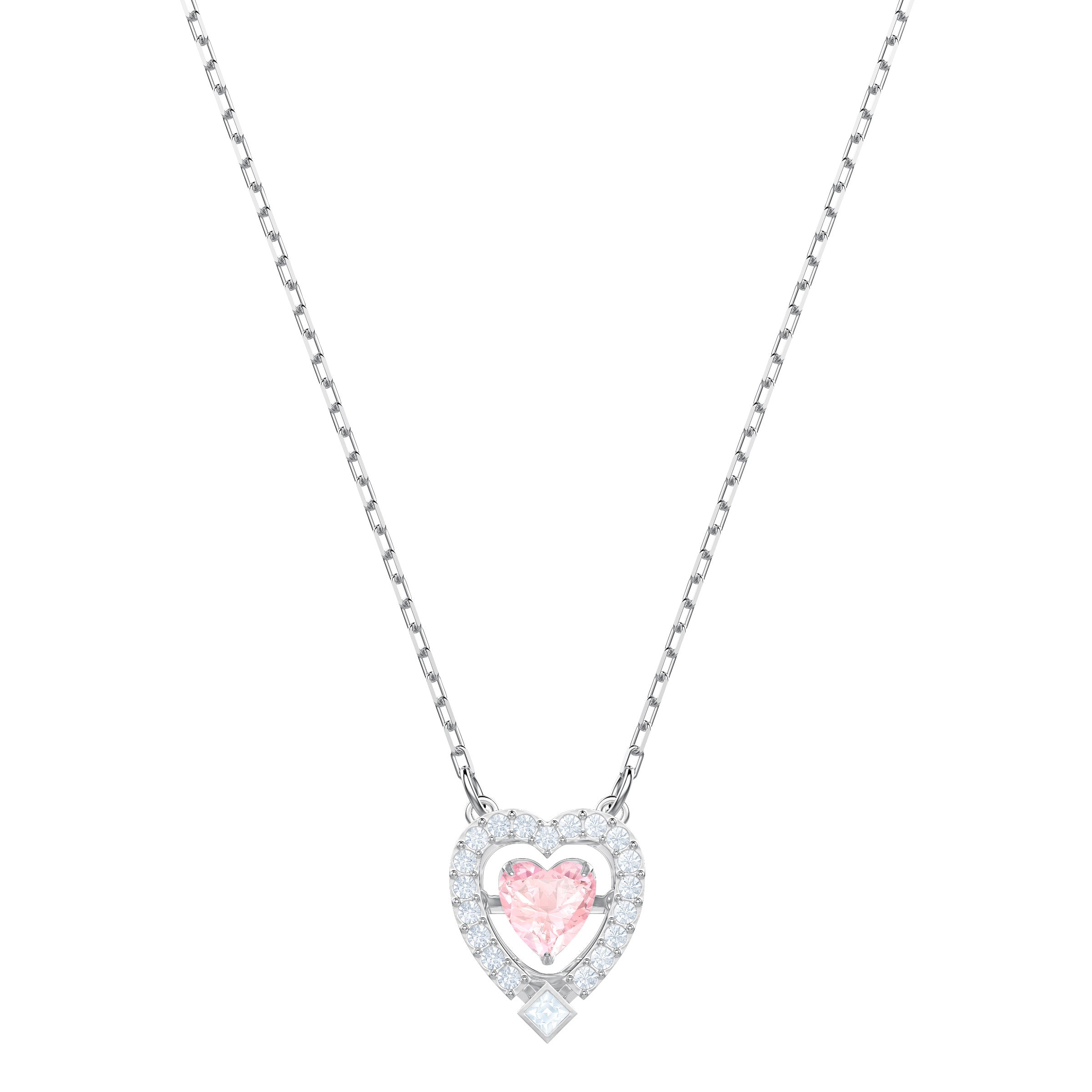 SWAROVSKI - Sparkling Dance Heart Necklace