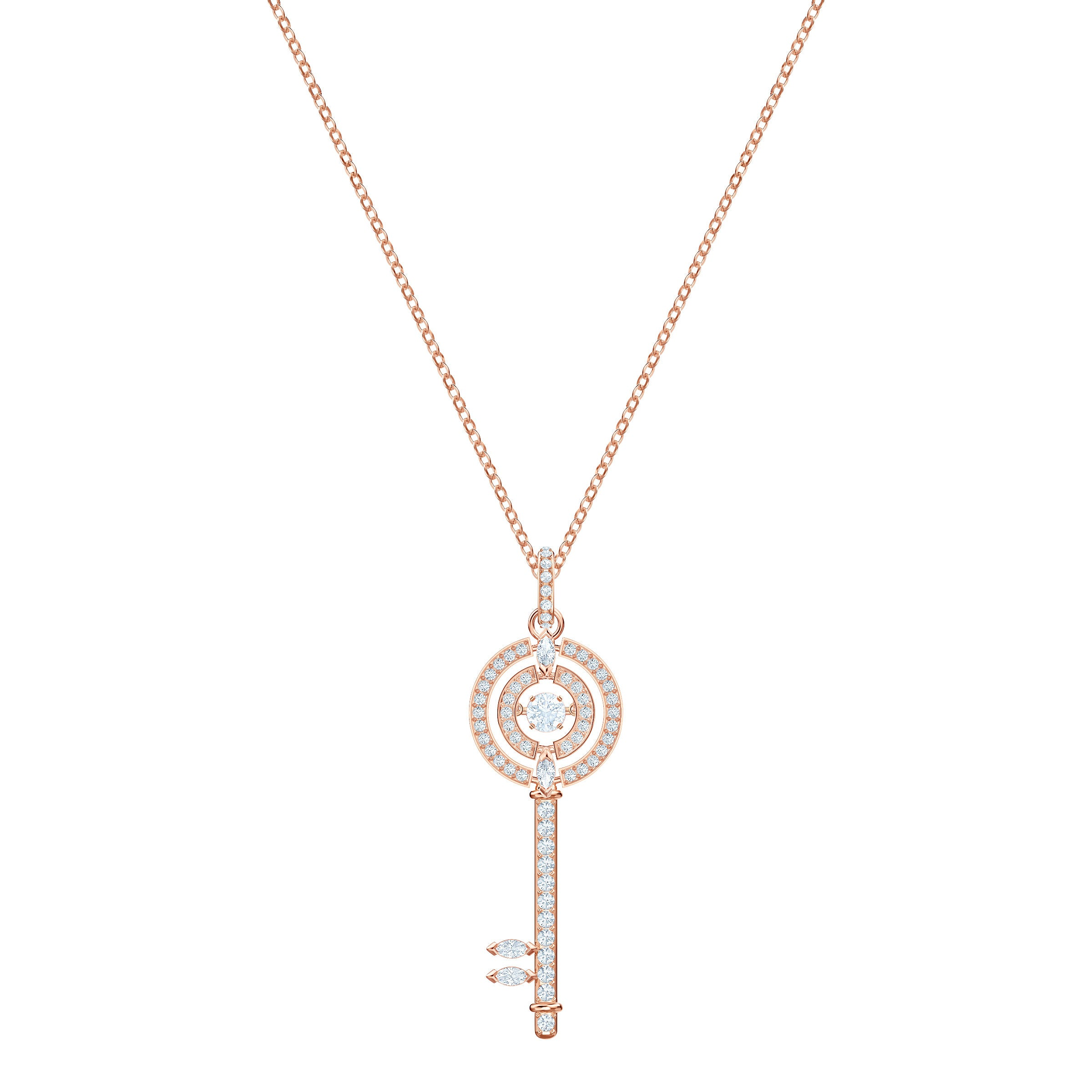 SWAROVSKI - Sparkling Dance Key Necklace
