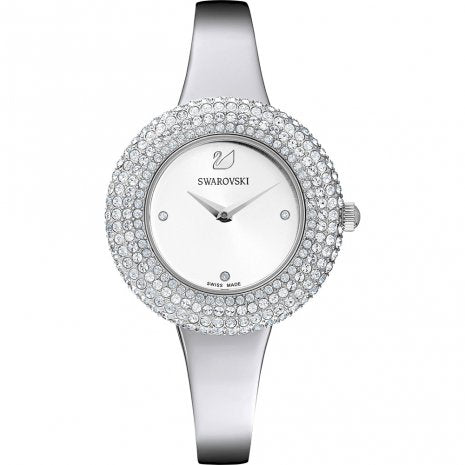 SWAROVSKI -  Crystal Rose Silver Ladies Watch