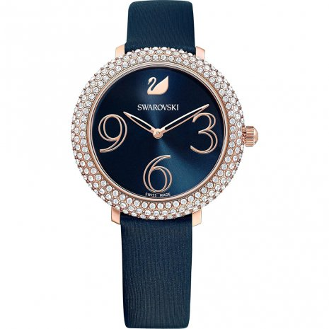 SWAROVSKI - Crystal Frost Watch Blue Ladies Watch