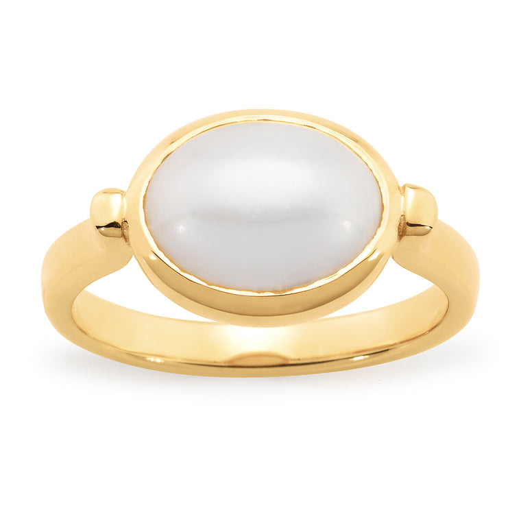 'Mae' Mabe Pearl Ring