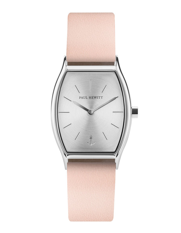 Paul Hewitt Modern Edge Silver Sunray Nude Watch