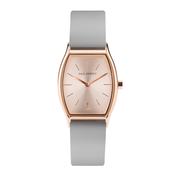 Paul Hewitt Modern Edge Rose Sunray Graphite Watch