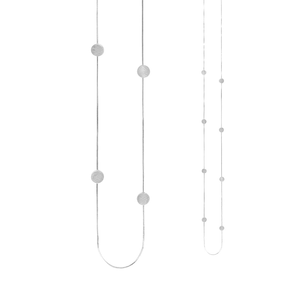 Vanity Simple Dot Necklace