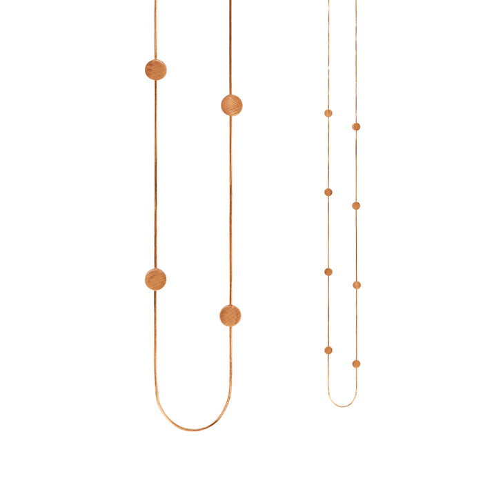 Dansk Smykkekunst - Vanity Simple Dot Necklace