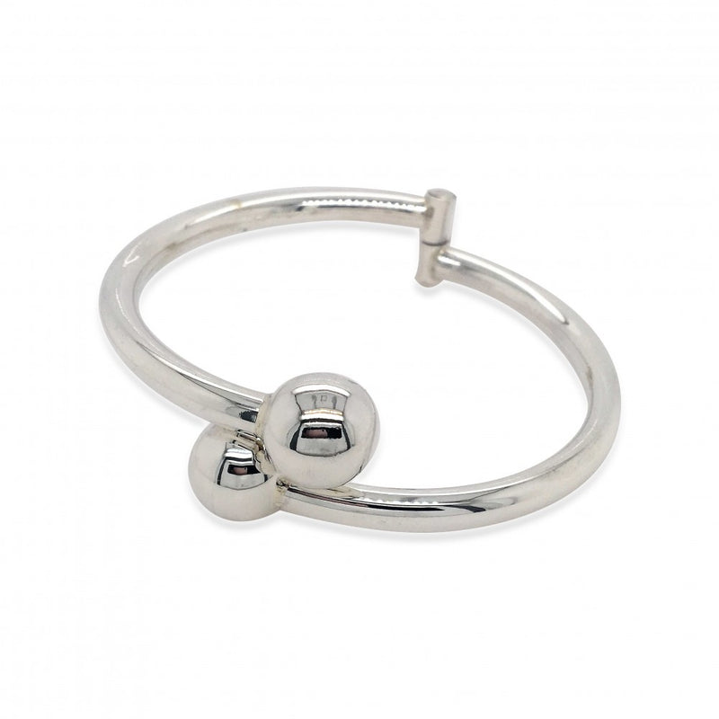 Mountain Creek Jewellery - Double Ball Hinged Bangle