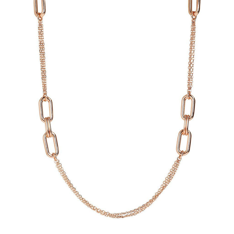 Bronzallure Chanel Necklace With Details