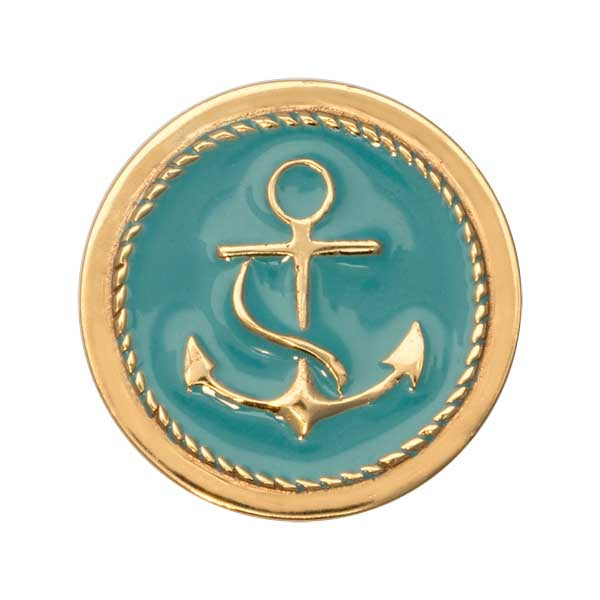Something Green Anchor Coin