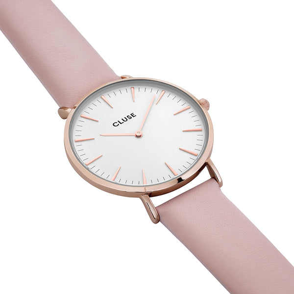 Cluse -  La Boheme Rose Gold & Pink Watch