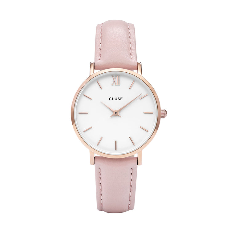 Cluse -  Minuit Rose Gold & Pink Watch