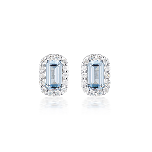 Georgini - Aqua Spinel Earrings