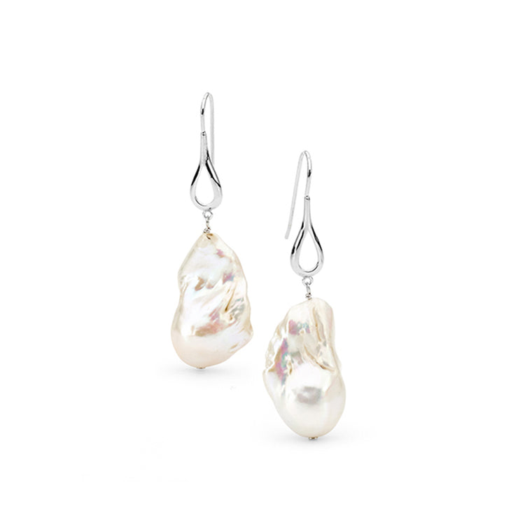 Jumbo Freshwater Pearl Earrings