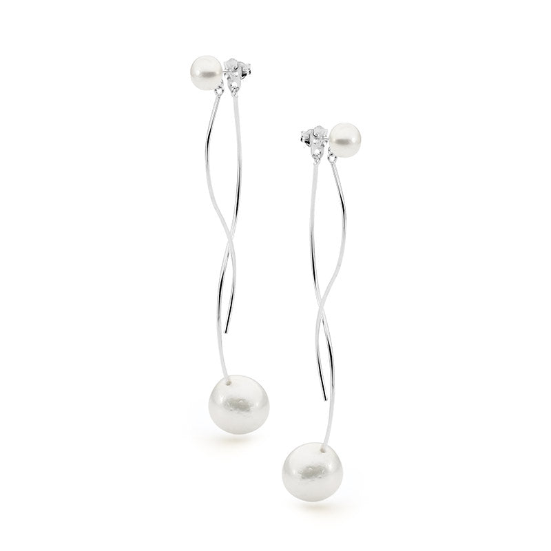 IKECHO - Pearl Drop Earrings