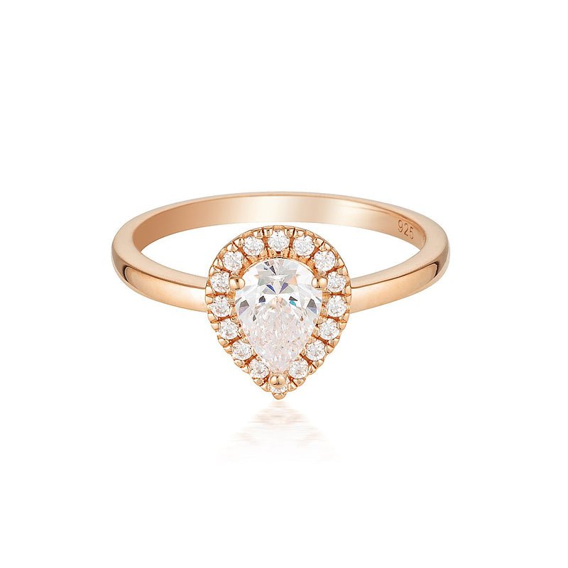 Georgini Luxe Splendore Ring Rose Gold