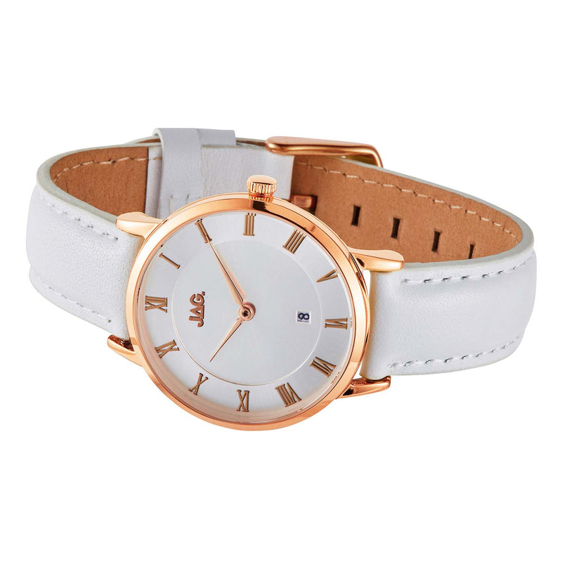 Jag - Lola Rose Gold Leather Ladies Watch
