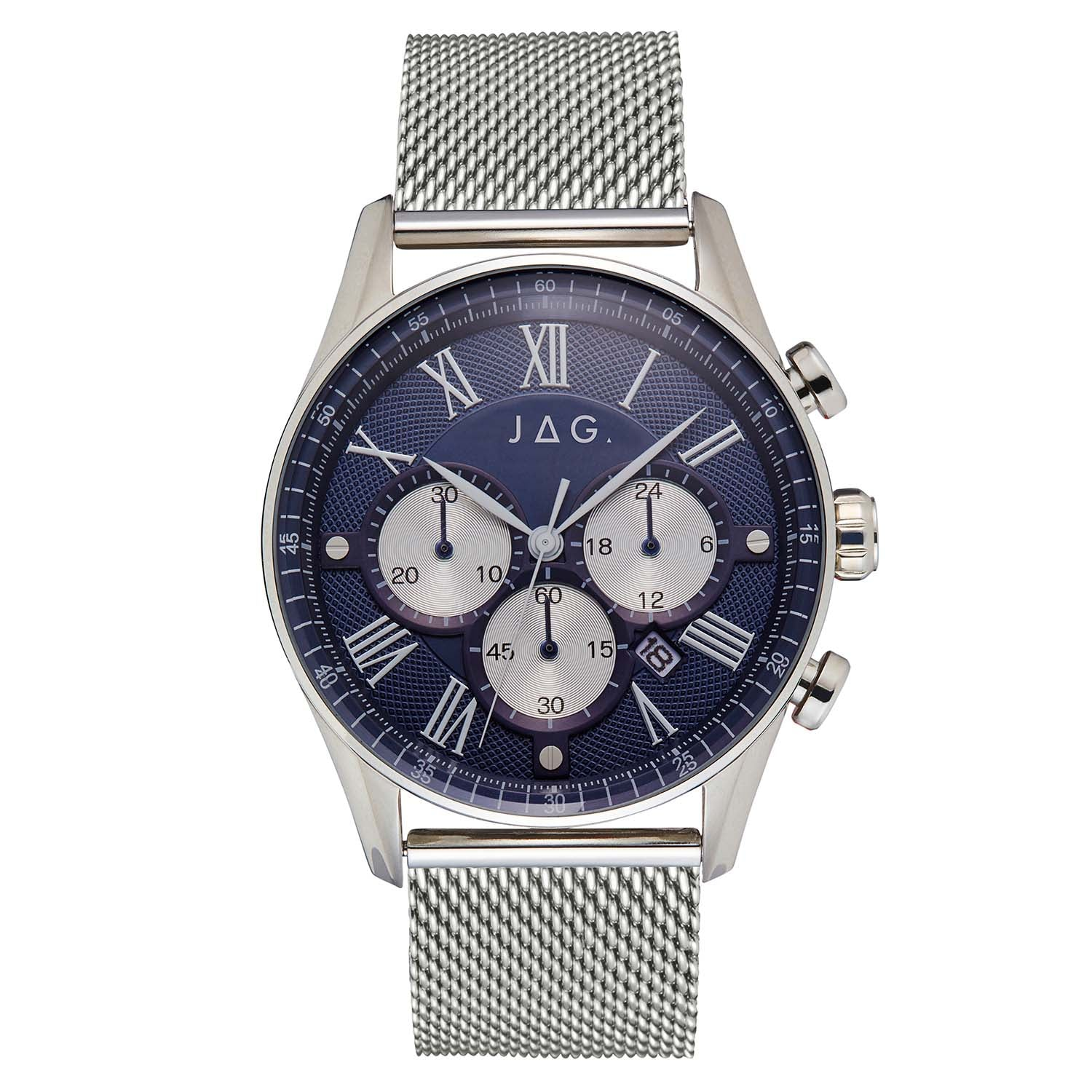 Jag - Lachlan Silver Mens Watch