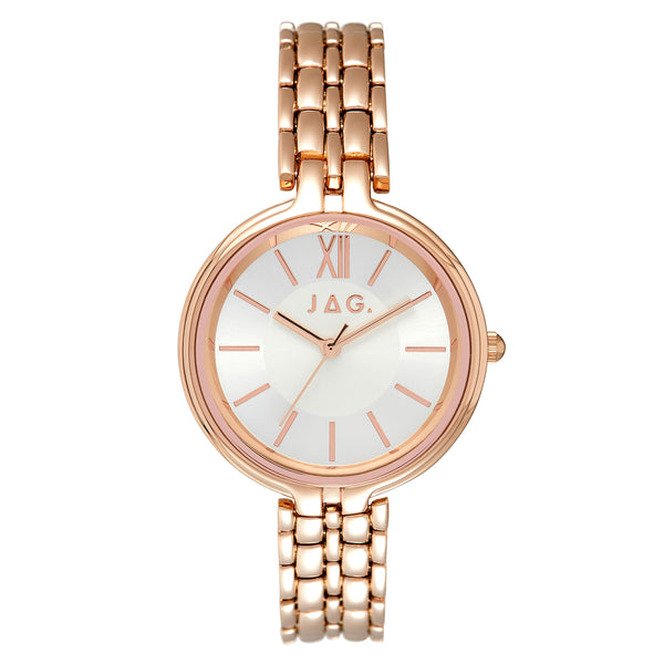 Jag - Dawn White - Rose Ladies Watch