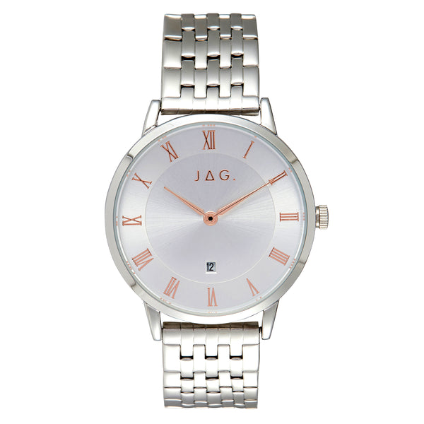 Jag - Lola White - Silver Ladies Watch