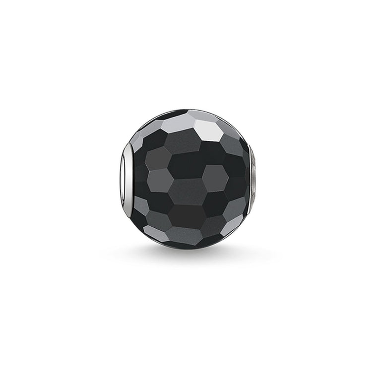 THOMAS SABO - Faceted Obsidian Bead