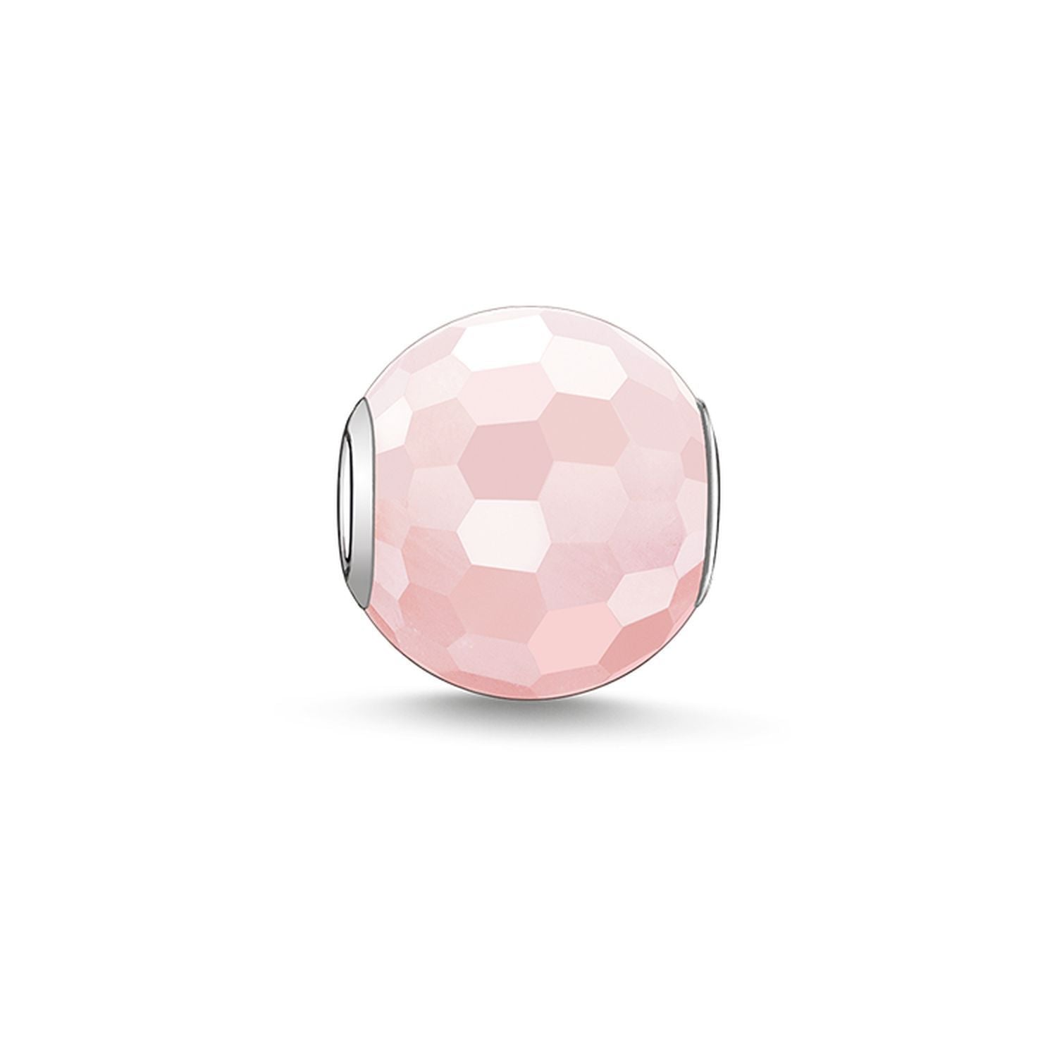 Faceted Rose Quartz Thomas Sabo Karma Bead K0005-034-9