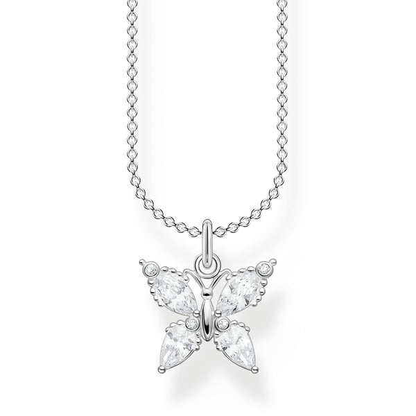 Thomas Sabo Necklace Butterfly Silver