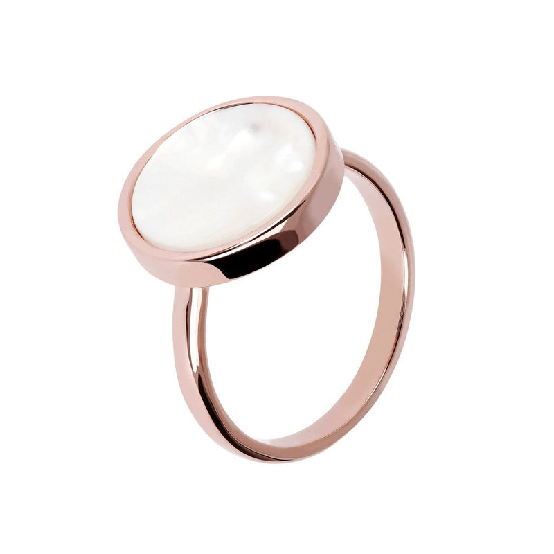 Bronzallure Mother Of Pearl Ring