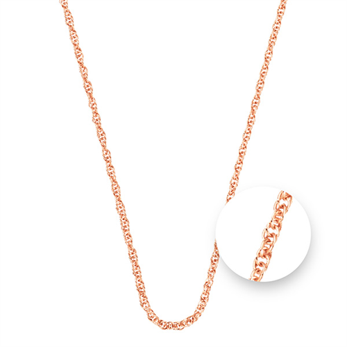 Nikki Lissoni - Rose Gold Plated Necklace