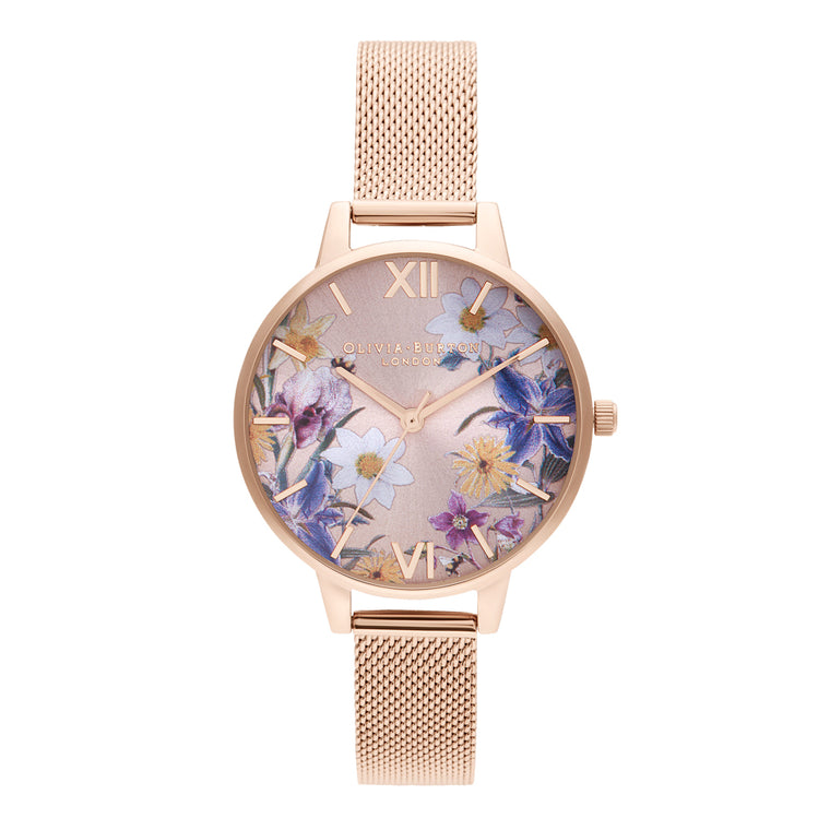 Best in Show Sunray & Rose Gold Watch