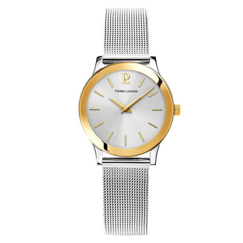 Pierre Lannier - Ligne Pure Two Tone Watch