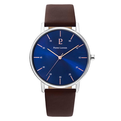 Pierre Lannier - Cityline Silver/Blue Watch