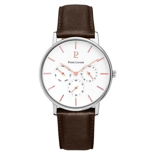 Pierre Lannier - Cityline Silver/White Watch