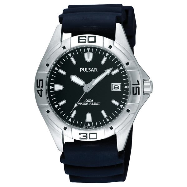 Pulsar - Gents Silicone Watch