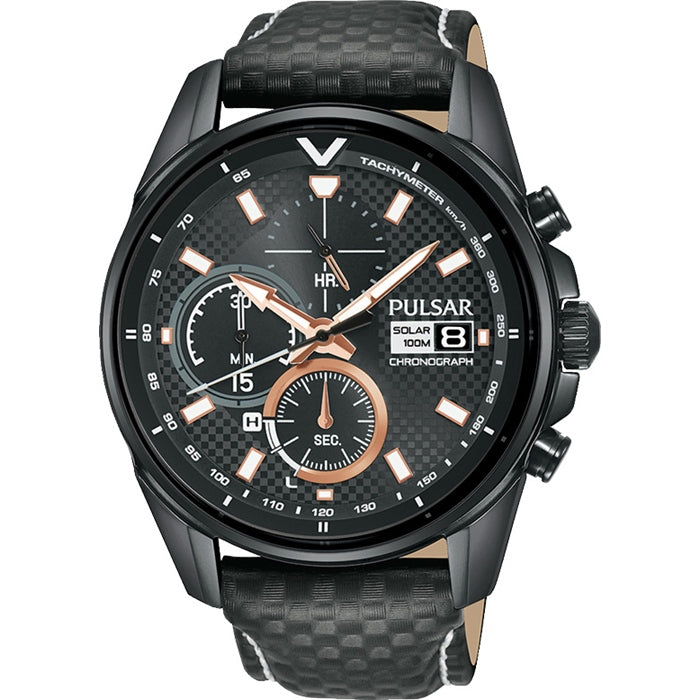 Pulsar - Gents V8 Supercars Solar Watch