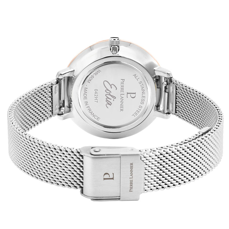 Eolia Silver Milanese Steel Watch