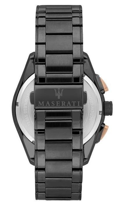 Maserati TRAGUARDO 45mm Gun Metal Watch